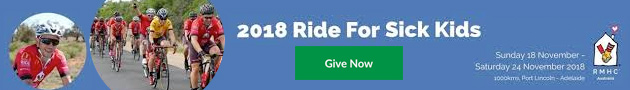 Ride for sick kids
